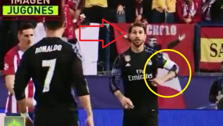 Ramos e këshilloi Ronaldon të bëjë hile ndaj Atleticos (Video)