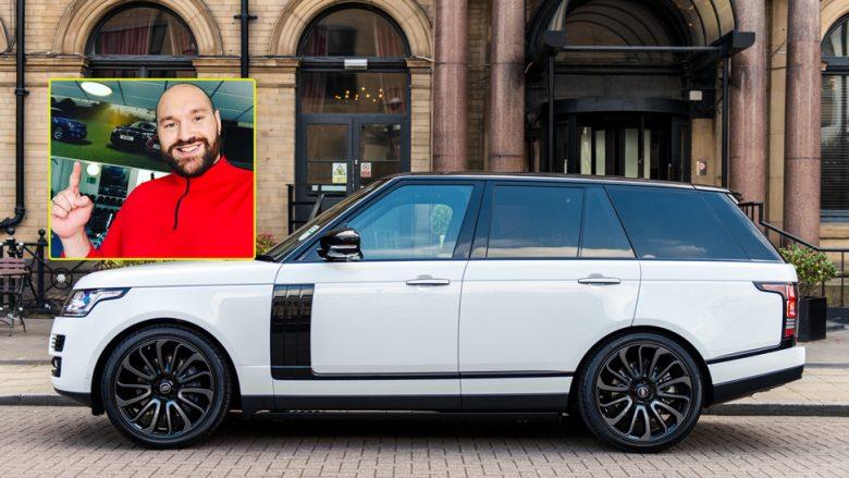 Tyson Fury merr dhuratë një Range Rover në vlerë prej 175.000 eurosh (Foto/Video)