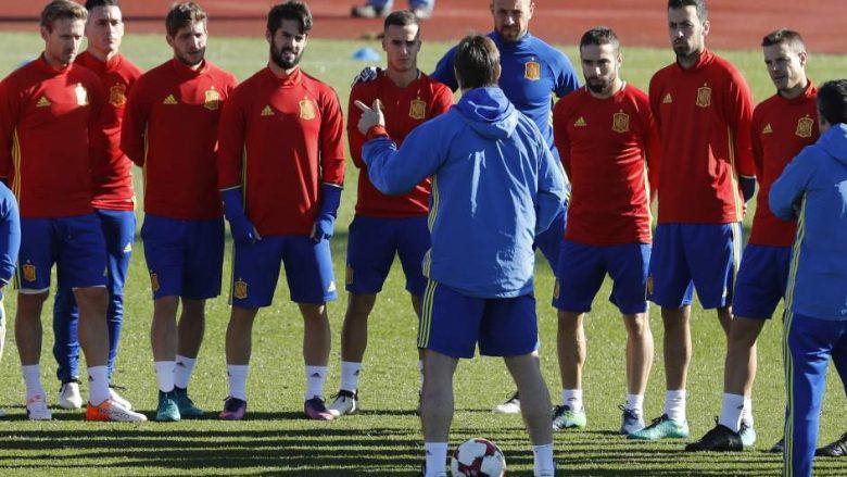 Spanja publikon listën për dy ndeshjet e ardhshme, dominojnë futbollistët e Realit (Foto)