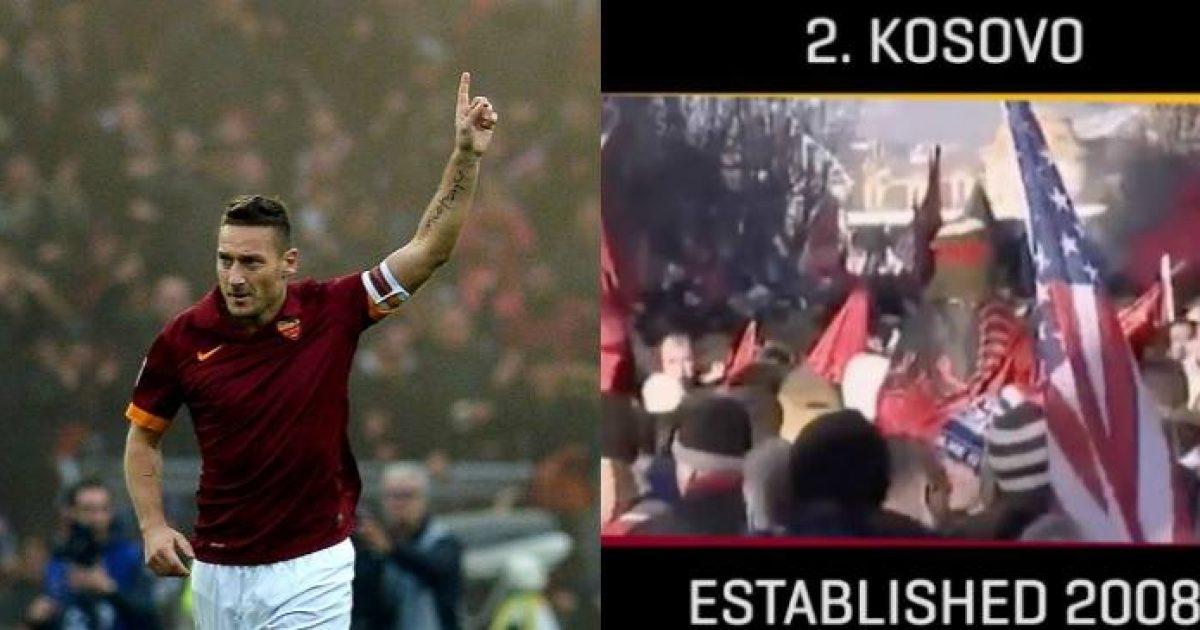Nga sot çdo serb do ta urrej Romën  Në videon lamtumirëse për Tottin  shfaqet edhe pavarësia e Kosovës