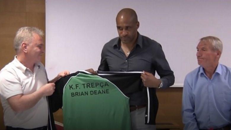 Futbollisti që shënoi golin e parë në histori të Ligës Premier shqyrton mundësinë të investojë te Trepça (Video)