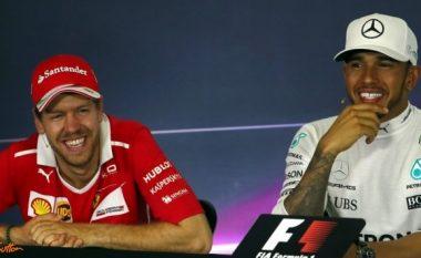 Hamilton: Vettel është piloti i parë të Ferrari