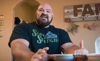 Njihuni me burrin më të fuqishëm në botë: Ai ka mbrojtur katër herë radhazi titullin e më të fortit, por shikoni çfarë ha për ta ruajtur këtë epitet (Foto/Video)