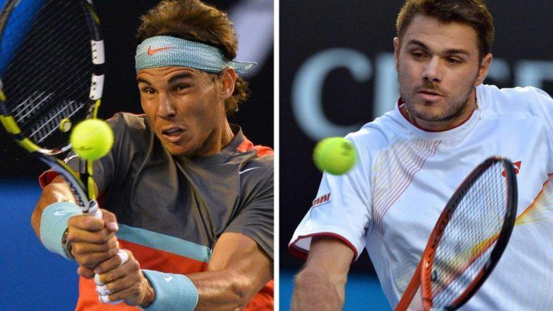 Stanislas Wawrinka dhe Rafael Nadal do ndeshjen në finalen e Roland Garros