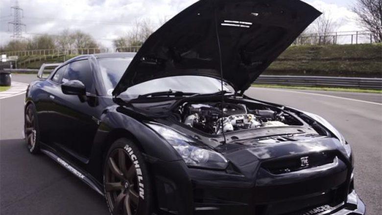 Modifikohet Nissan GT-R i prodhuar më 2007, duket më mirë se makinat e reja (Video)