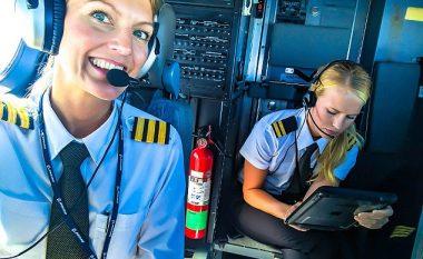Pilotët që kanë mijëra ndjekës në rrjetin social shkaku i dukjes së bukur (Foto)