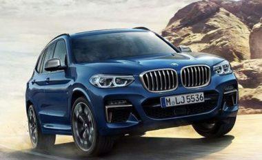 Rrjedhin pamjet e BMW X3 një ditë para datës së caktuar (Foto)