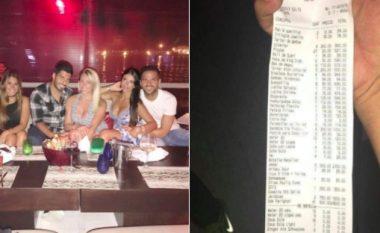 Publikohet shuma marramendëse e faturës që Messi pagoi gjatë një darke në Ibiza - 27 pica, 41 shishe Dom Perignon, por edhe hamburger 112 euro (Foto)