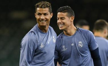 Rodriguez shpreson që Ronaldo t'i bashkohet te Djajtë e Kuq