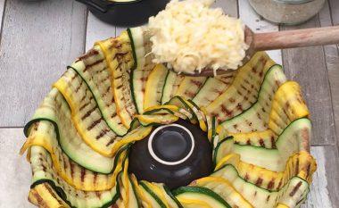 Drekë tërësisht e pazakonshme: Kungllesha dhe mish, kombinim i mrekullueshëm! (Video)