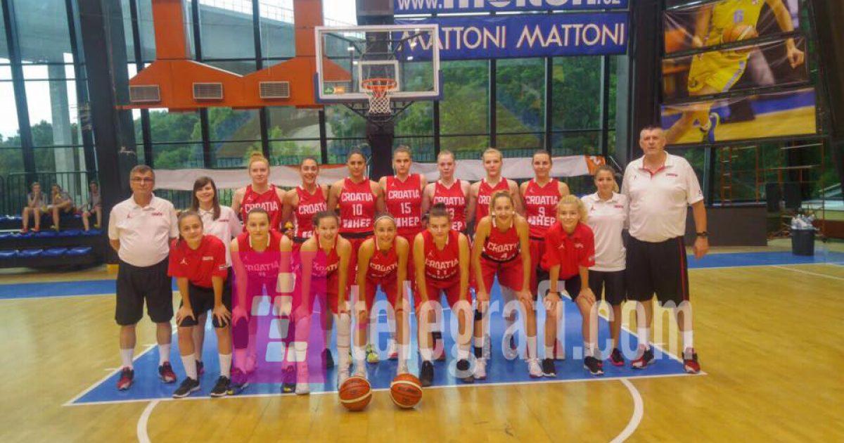 Ekskluzive  Diana Kozniku  trajnere kondicionale e kombëtare kroate të basketbollit të femrave