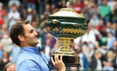 Federer fiton titullin e nëntë në Halle, është gati për Wimbledon (Foto)