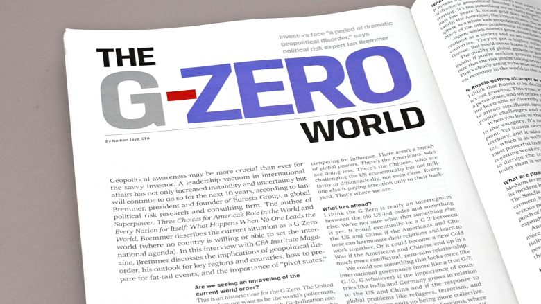 Bota G-Zero: Shenjat që tregojnë se kemi mbetur pa lider botëror!