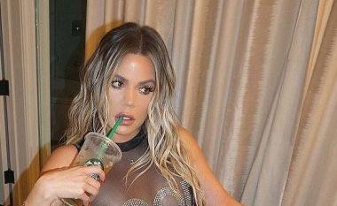 Khloe Kardashian me bikini transparent (Foto)