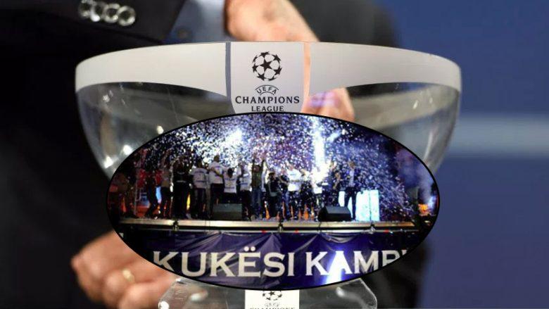 Liga e Kampionëve: Kampioni i Shqipërisë vihet përballë ekipit nga Moldavia