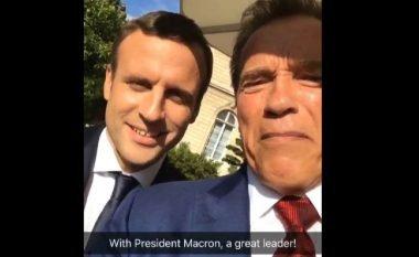Macron dhe Schwarzenegger bashkë kundër Trump