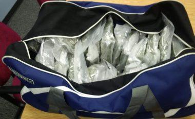 Çantat plot me drogë, arrestohen dy shqiptarë në Greqi