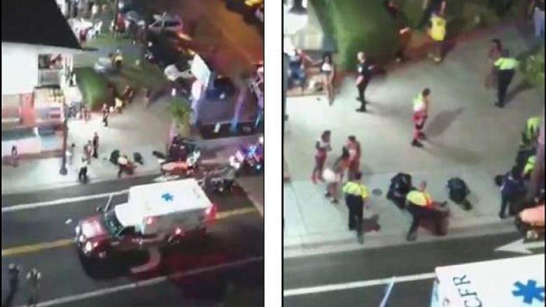 Turisti publikon Live të shtënat që lanë shtatë të plagosur, gjatë një zënke në Karolinën e Jugut (Video)