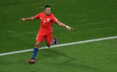 Sanchez hyn në histori të Kilit me golin e shënuar ndaj Gjermanisë