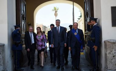 Thaçi në Kalabri: Trashëgiminë e pasur arbëreshe do ta ruajmë bashkë (Foto)