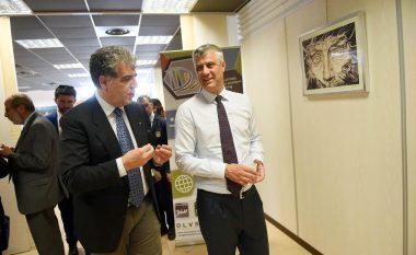 Thaçi: Kosova e gatshme të mbështesë albanologjinë dhe kulturën arbëreshe (Foto)