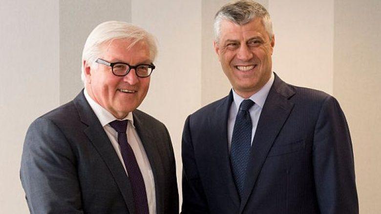 Thaçi: Gjermania garantuese e anëtarësimit të Kosovës në Bashkimin Evropian
