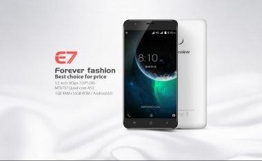 Blackview E7, telefoni i lirë në Android me specifika të avancuara (Video)