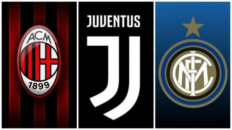 Formacionet e mundshme të klubeve në Serie A me blerjet e deritanishme
