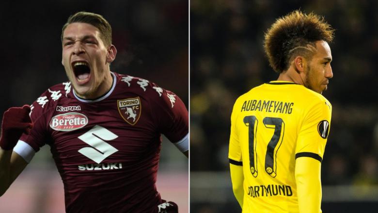 Milani është i lirë të tentojë për Aubameyangun ose Belottin