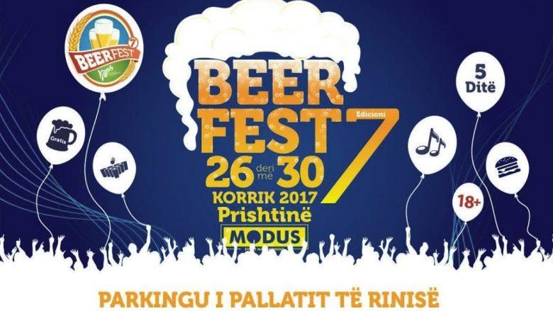 """Edicioni i 7 i """"Beerfest Kosova"""" vjen më atraktiv dhe më impozant se kurdoherë!"""