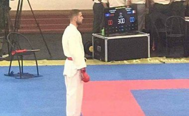 Karateisti Alvin Karaqi fitoi medaljen e artë në Portugali