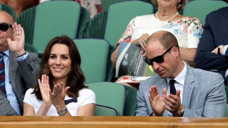Kate dhe William në momente romantike në Wimbledon (Foto)