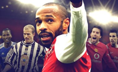 Vetëm pesë futbollistë kanë shënuar 20 e më shumë gola në tri sezone radhazi në histori të Ligës Premier (Foto)