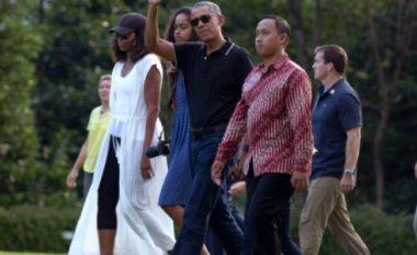 Obama po shijon jetën, kalon pushimet me familje në vendin më tropikal në botë (Foto)
