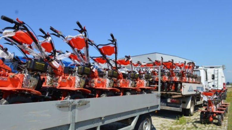Fermerëve të Gjakovës do t'i shpërndahen motokultivatorë