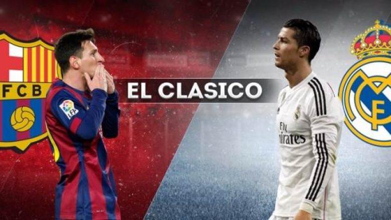 Analizë dhe parashikim: Barcelona – Real Madrid