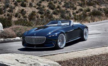 Mercedes lanson më në fund kabrioletin madhështor Maybach 6 (Video)
