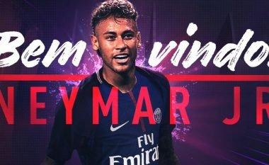 Neymar pjesë e listës së PSG-së për ndeshjen ndaj Guingampit (Foto)
