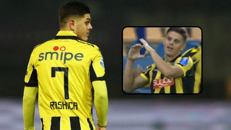 Pas asistimit, Rashica shënoi edhe gol (Video)