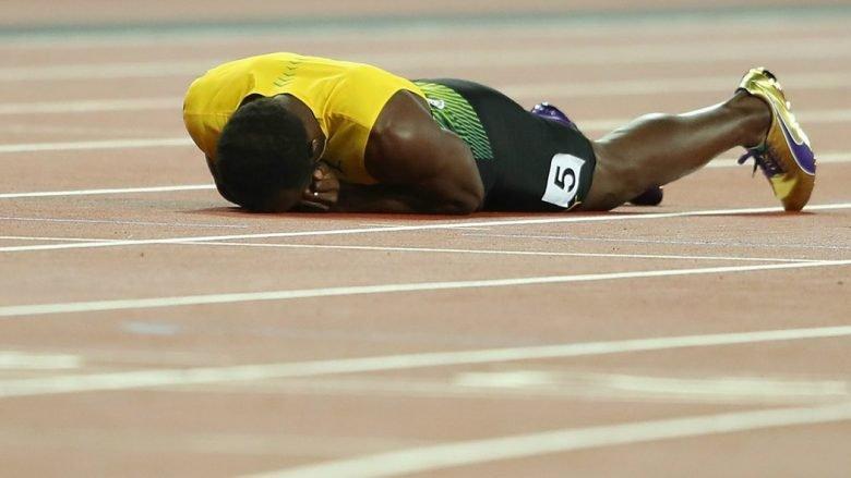Fund pikëllues për Usain Bolt, atleti i famshëm nuk arriti ta përfundojë garën finale për shkak të lëndimit (Foto/Video)