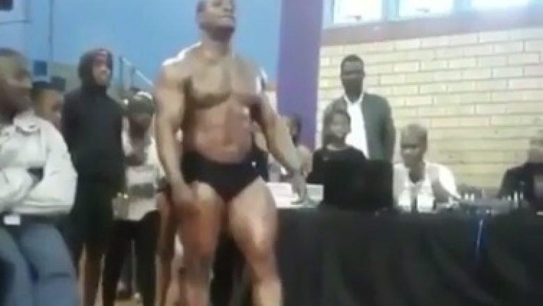Bodybuilderi ndërron jetë tragjikisht teksa po dhuronte spektakël para shikuesve (Video)