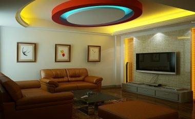 Ide kreative si të zbukuroni tavanin (Foto)