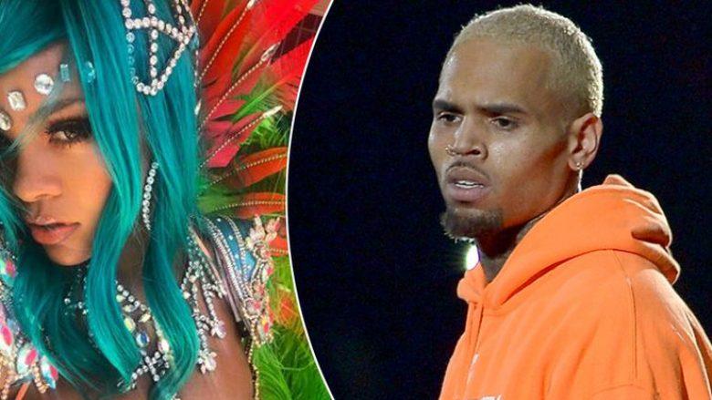 Chris Brown i komenton Rihannas në Instagram, shumë kohë pas ndarjes (Foto)