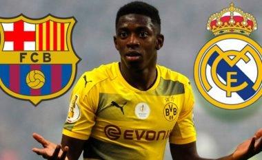 Reali sfidon fortë Barcelonën, ofron lojtarë plus para për Dembelen