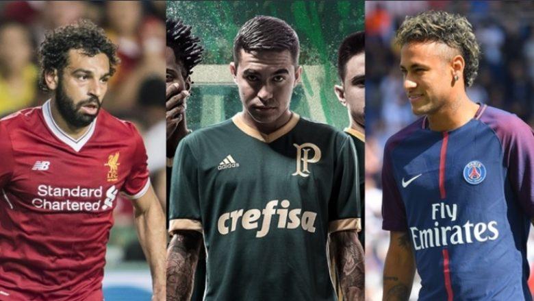 Fanellat më të bukura të sezonit 2017/2018 – Prijnë italianët, këto janë 19 skuadrat (Foto)