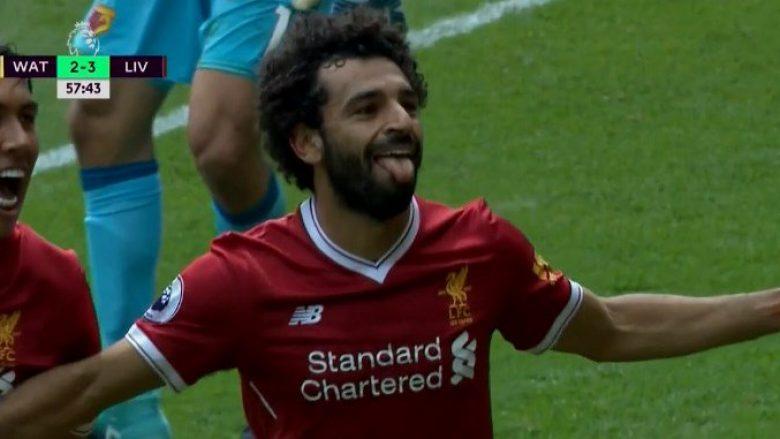 Dyshja Firmino-Salah rikthejnë në favor rezultatin e Reds për vetëm dy minuta (Video)