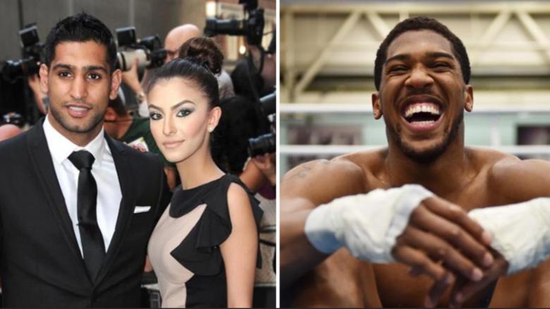 Anthony Joshua po akuzohet se ka ndarë ish-kampionin botëror në boks me gruan (Foto)