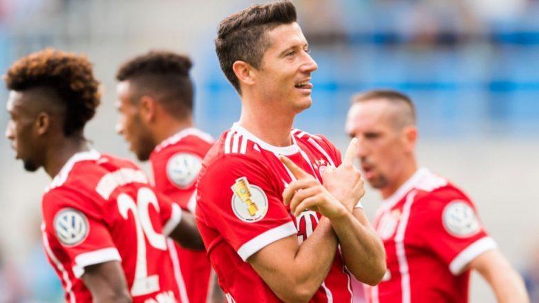 Bayerni me lehtësi në fazën tjetër të DFB Pokal (Video)