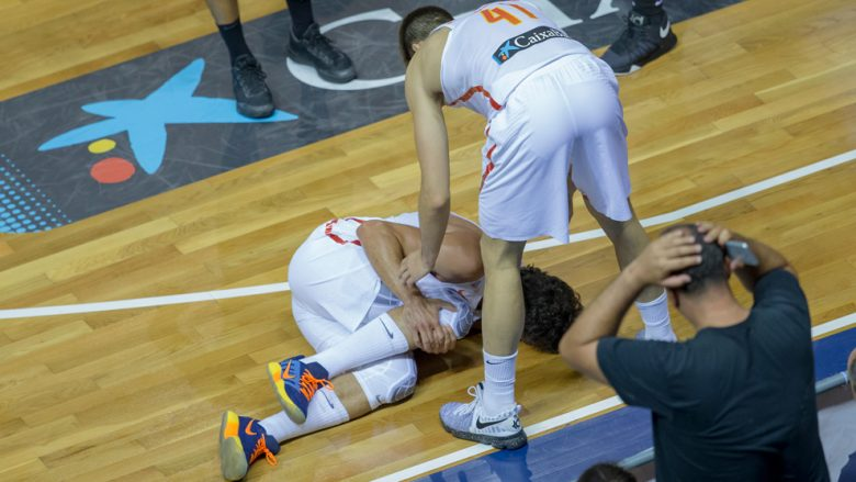 Lull lëndon ligamentin e gjurit, nuk luan në Eurobasket