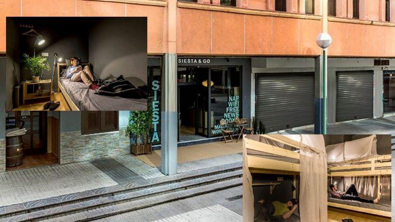 """Kafeneja e pazakontë në Madrid, aty turistët mund """"të bëjnë edhe një sy gjumë"""" (Foto)"""